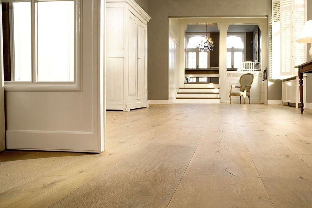 Restpartij houten vloer m eiken lamel rustiek a b cm mm