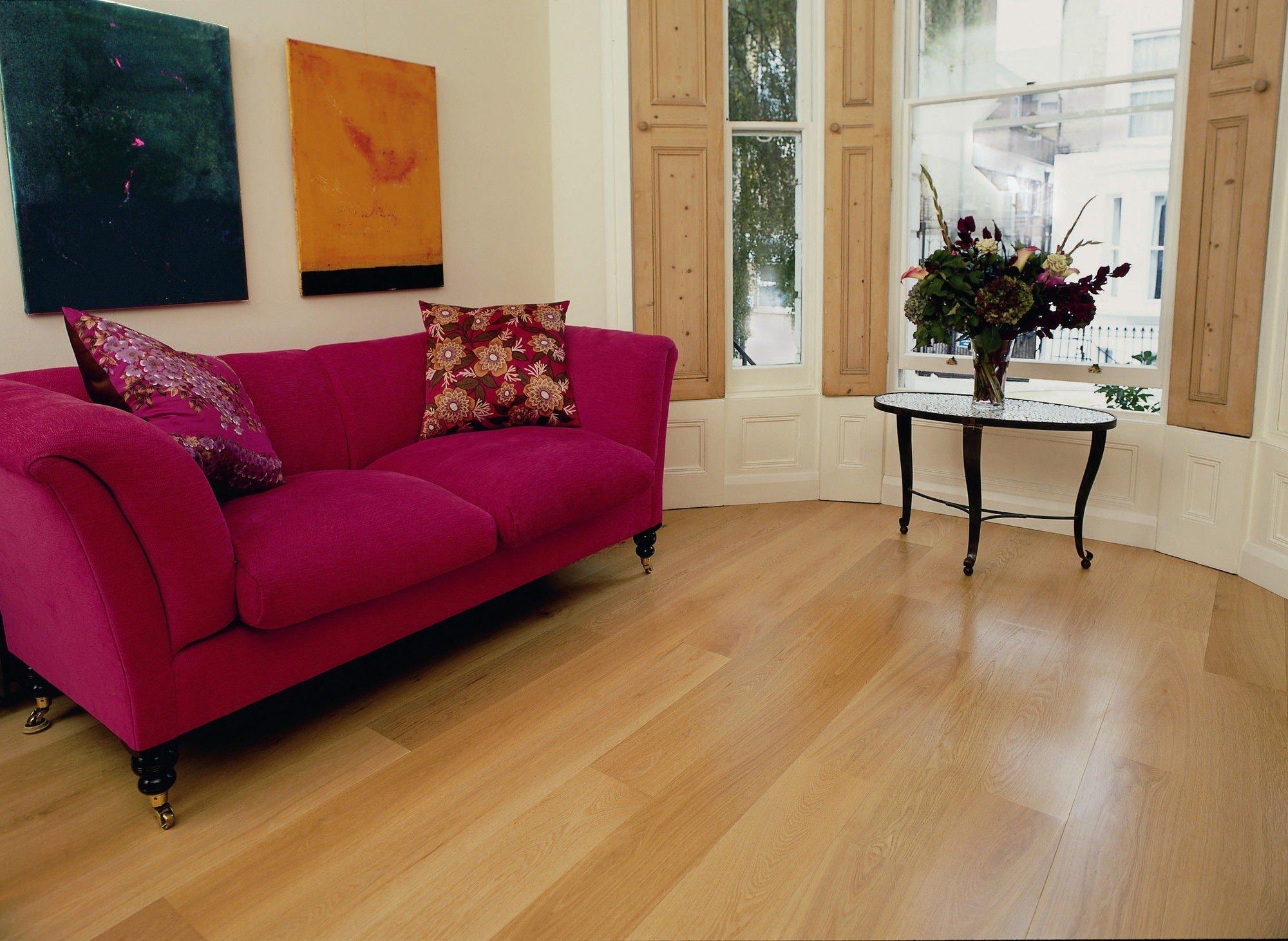 Eiken houten vloer aanbieding compleet geplaatst kopen