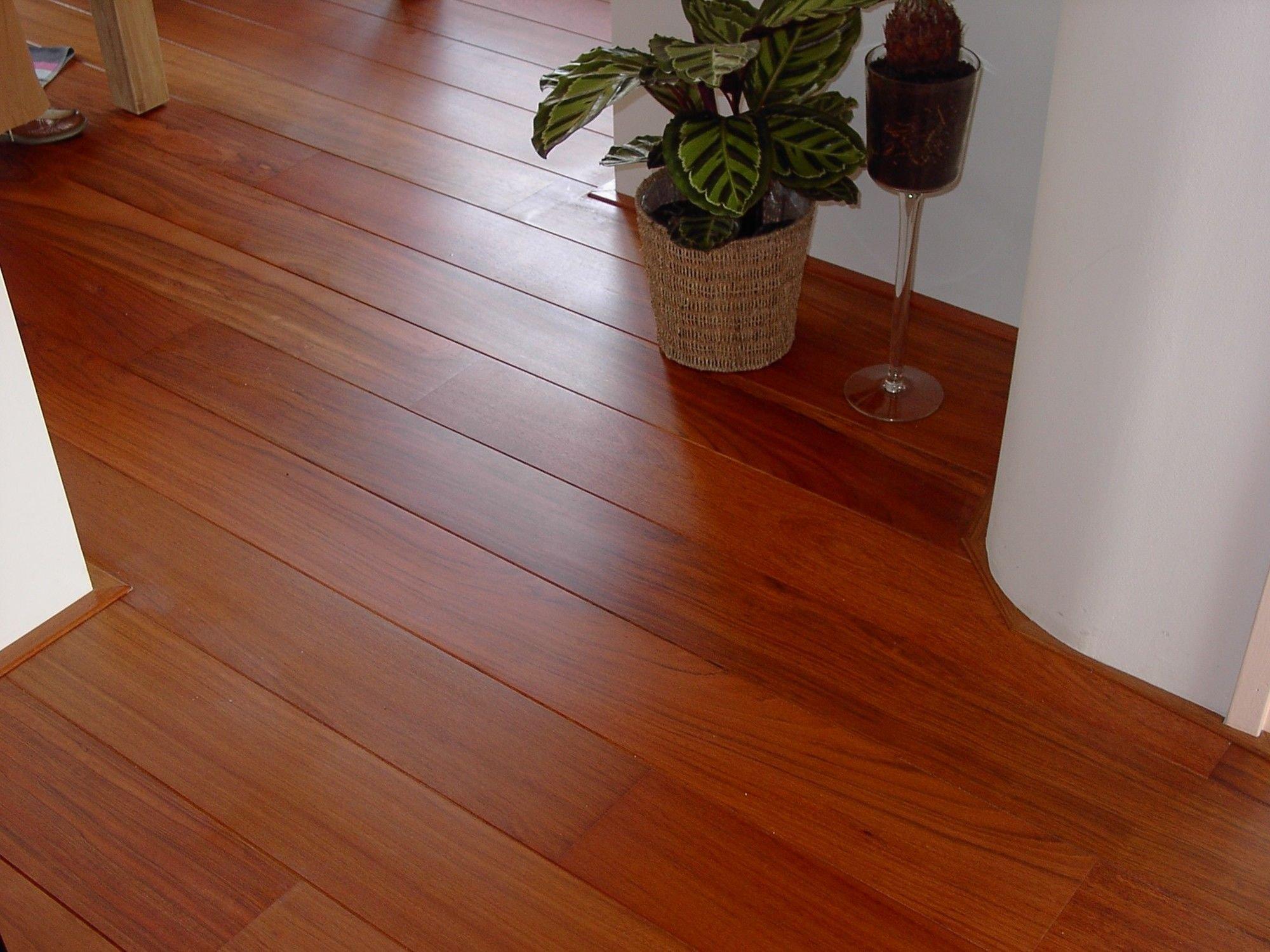 Jatoba houten vloer aanbieding compleet geplaatst incl randaf