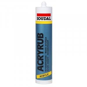 Soudal Acrylaatkit Wit, Overschilderbaar 310ml Koker