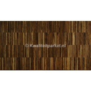 Walnoten/noten hoogkant mozaiek, Industrie, 22mm
