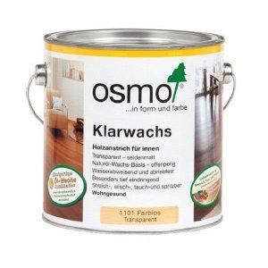 OSMO Blanke was 1101 (Klaarwax) 2,5L Exoten Houtsoorten