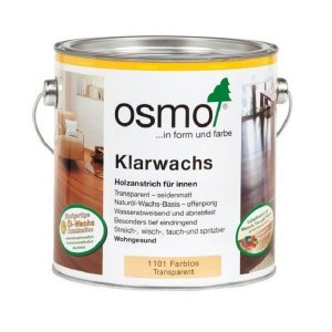 OSMO 1101 Blanke was (Klarwachs) 0,75L Exoten houtsoorten