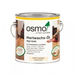 OSMO Rapid 3262 Hardwax Olie Mat 5,0L (2 x 2,5 Liter)