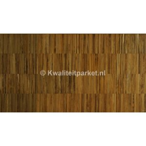 Teak hoogkant mozaiek, Industrie, 22mm hoog, 8mm breed