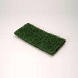 Vloerpads Groen 12x25cm, 10 stuks