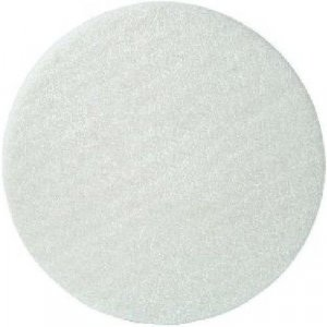 Vloerpad Wit 16 inch (406 mm) dun 5 stuks