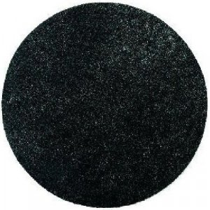 Vloerpads Zwart 16 inch (406mm) dik 5 stuks