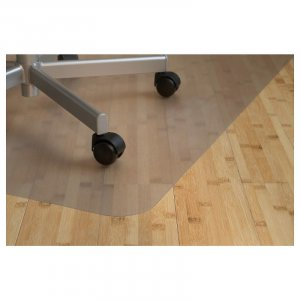 Bureaustoelmat 90x120cm, Stoelmat voor harde vloeren