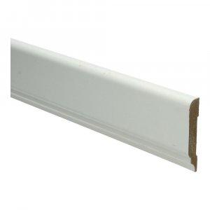 MDF Koloniale architraaf 68x12x2440mm wit voorgelakt RAL 9010