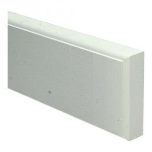 MDF retro neut 50 cm (30x100mm) wit voorgelakt RAL 9010