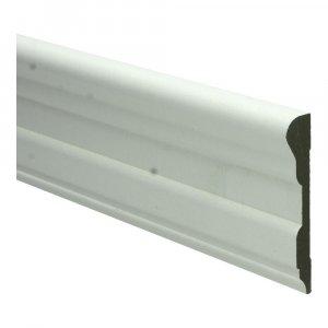 MDF Romantische architraaf 90x16x2440mm wit voorgelakt RAL 9010