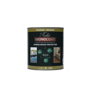 Rubio Monocoat Hybrid Wood Protector Traditional kleur Black