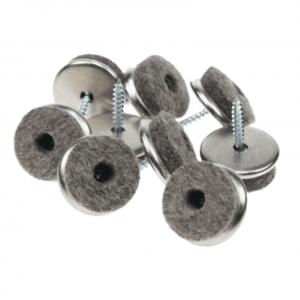Viltglijders, Schroefviltjes 20mm, 16 stuks