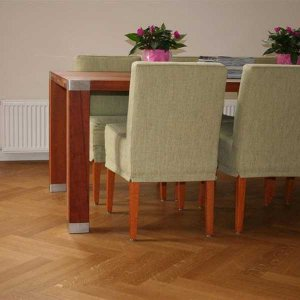 Eiken Visgraat Rustiek Extra Vloer Inclusief Montage