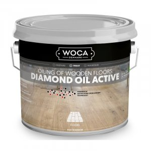 Woca Diamond Oil Active Carbon Black
