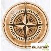 Elite Parquet Houten Medaillon Compass IV 500mm of 1000mm