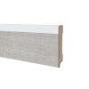 MDF PVC plint voorgelakt RAL 9010 voor dryback PVC