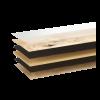 Woodura Cured Wood Eiken LOSHULT v2 Brede plank Licht Matte lak Select 5G kliksysteem
