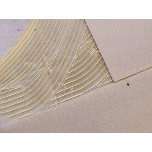Spaanplaat ondervloer platen 22mm, 83x125cm
