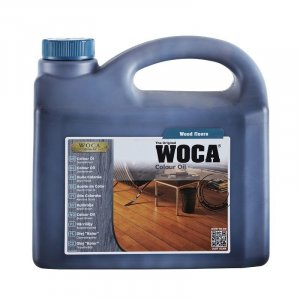 Woca Colour oil 120 Black 2500 ml