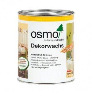 OSMO 3169 Decorwas Dekkend Zwart 0,75L