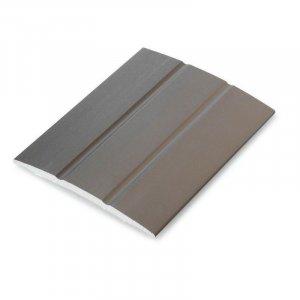 Dilatatieprofiel Brons 25 mm alu schroef, 2.70m