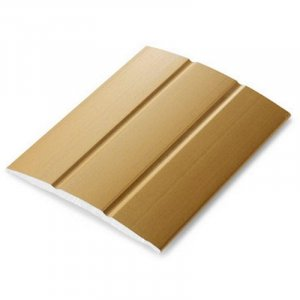 Dilatatieprofiel Goud 25 mm alu zelfklevend, 2.70m