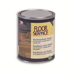 Floorservice Color Hardwax-olie Classic Grijs 3 756 1L