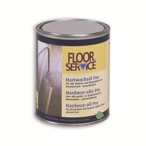 Floorservice Hardwax-olie Pro naturel 1.0 L (VOS-vrij)