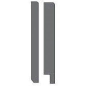 MDF Gladde plint, 270x18mm, 2.44 m1. 2x gegrond