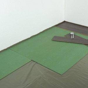 Groene Ondervloer Platen 7mm, 10.03 m2 per pak