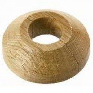 Houten enkel rozetten 22mm, div. houtsoorten.