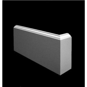 MDF Kraalplinten, 140x18mm, 2.44 m1. 2x gegrond