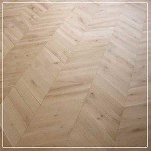 Maple Hongaarse punt vloer inclusief montage