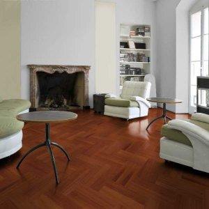 Moabi Visgraat Vloer Inclusief Montage