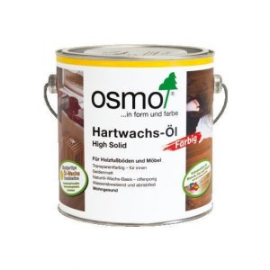 OSMO 3075 Zwart 0,75L Hardwax Olie Farbig