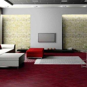 Purperhart Visgraat Vloer Inclusief Montage
