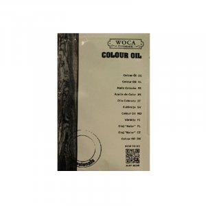 WoCa 106 kleurolie Rhode Island Brown 25 ml (monsterzakje)