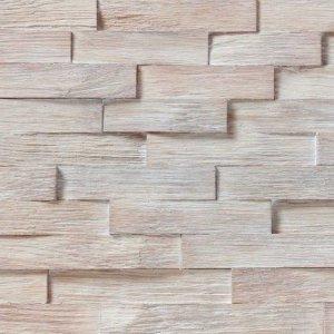 Woodbricks Wandpanelen Wit Geolied
