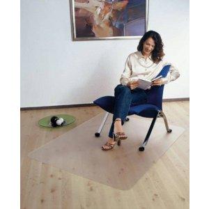 Bureaustoelmat 120x150cm, Stoelmat voor harde vloeren