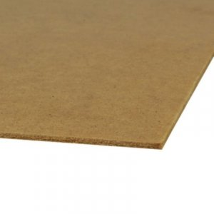 Hardboard plaat 3,2 mm 61 x 122 cm