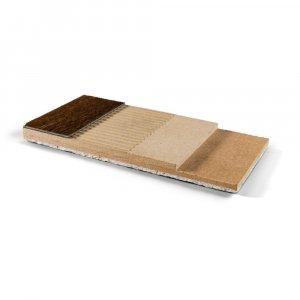 Jumpax ondervloer Dual PVC, Linoleum, Vinyl en Kurk -10dB, 10mm, 2,88m2