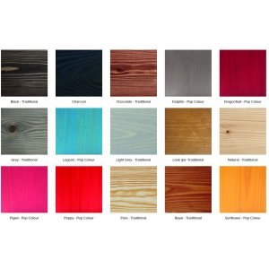 Rubio Monocoat Hybrid Wood Protector Pop kleur Lagoon