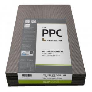10dB XPS ondervloerplaten 5mm, 9,60 m2 Speciaal voor verdiepingen