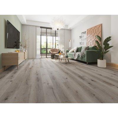 Alpha Floors SPC Rigid Dryback SPC vloer Zacht Eiken Grijs