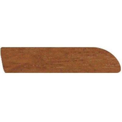 Afzelia platte plinten 6x28 mm