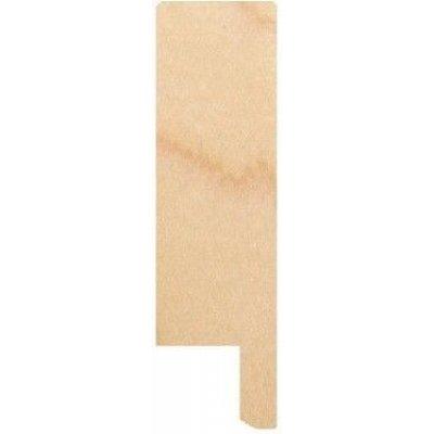 (Ahorn) Maple Rechte plinten 15x55mm