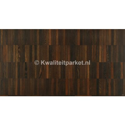 Wenge mozaiek parket parallel 160x160mm