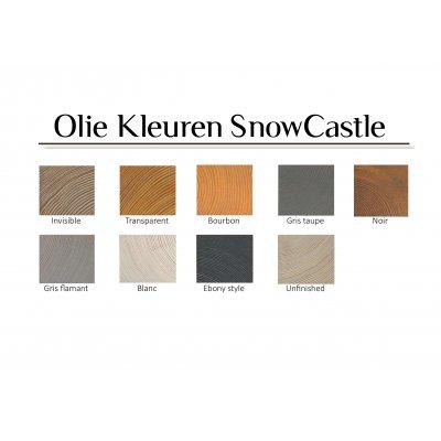 CastleFloors - Kopshout - SnowCastle - 3D Wandpanelen 70 x 70 x 7-10-14-18-22 mm